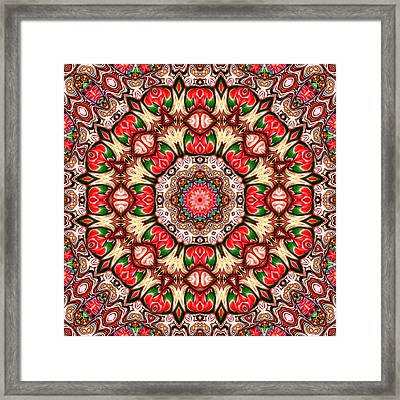 Rose Marie Framed Print by Wendy J St Christopher