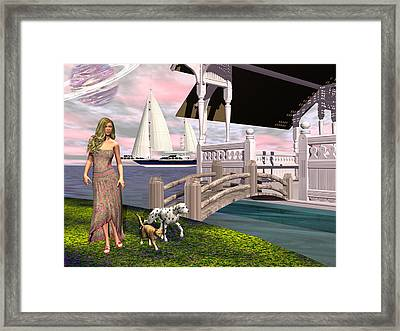 Rose Framed Print by Michele Wilson