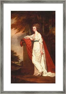 Rose Milles, 1780-83 Framed Print by George Romney