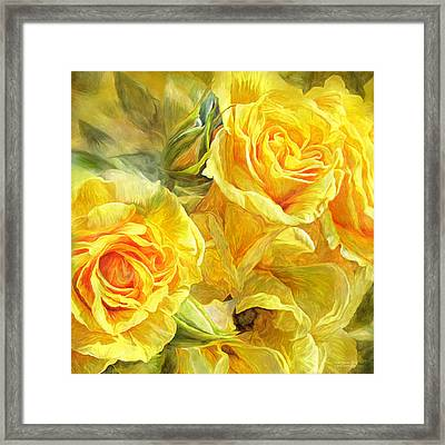 Rose Moods - Joy Framed Print