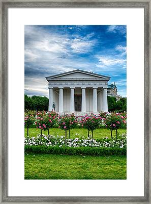 Rose Park Framed Print by Viacheslav Savitskiy