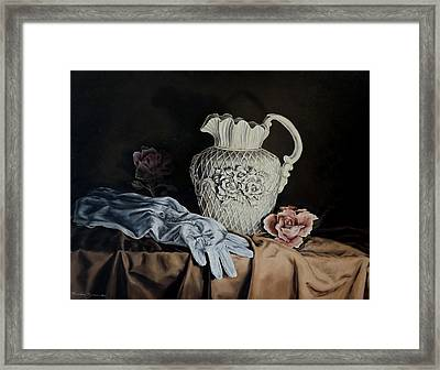 Rose Pitcher Framed Print