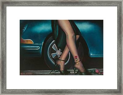 Rose Tattoo Framed Print