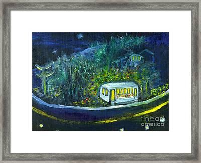 Rosebud's Diner Framed Print