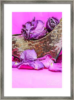 Roses And Things Framed Print