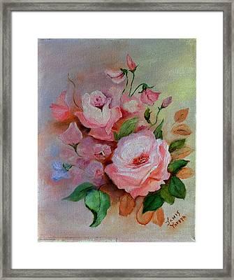 Roses Are Forever Framed Print