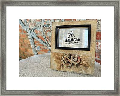 Roses Are Red Framed Print by Amanda  Sanford