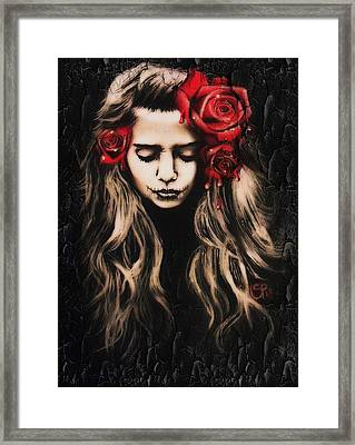 Roses Are Red Framed Print by Sheena Pike