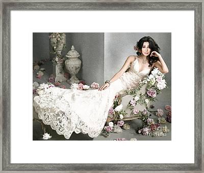 Roses For Cher Framed Print