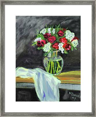 Roses For Mother's Day Framed Print
