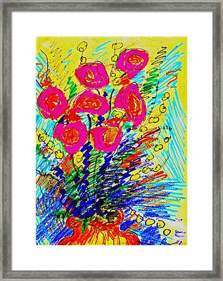 Roses For You Framed Print by Bill Solley