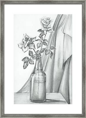Roses Framed Print by Gayatri Ketharaman