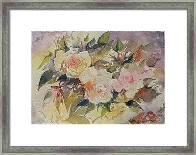 Roses Framed Print by Geeta Biswas