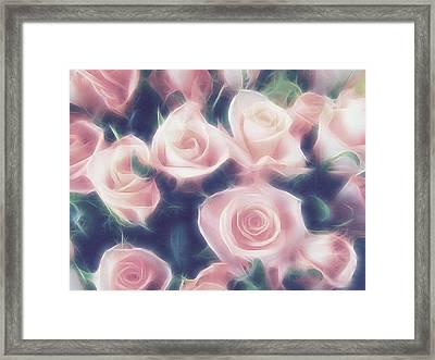 Roses In My Dreams Framed Print