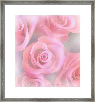 Roses Framed Print by Mikki Cucuzzo