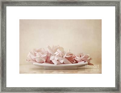 Roses Framed Print by Priska Wettstein