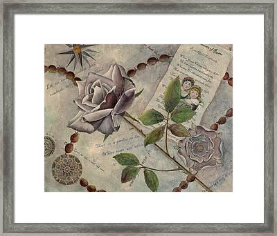 Roses Framed Print by Sandy Clift