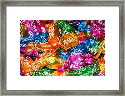 Roses Sweets Framed Print by Matt Malloy