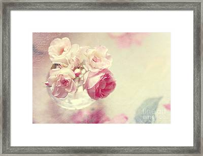 Roses Framed Print by Sylvia Cook