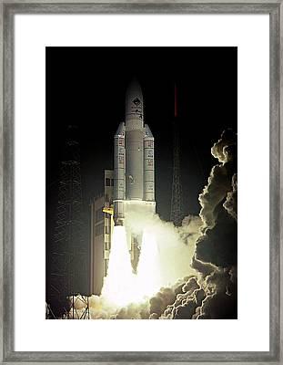 Rosetta Spacecraft Launch Framed Print
