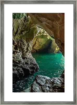 Rosh Hanikra Grottoes Framed Print by Sergey Simanovsky