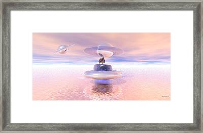 Rosie Come Here Framed Print by Wayne Bonney