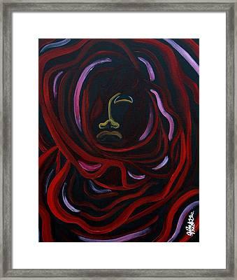 Rosie Flower Child Framed Print