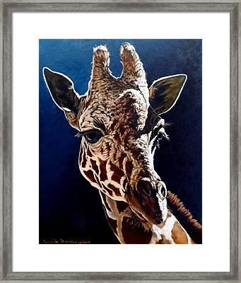 Rosie Framed Print by Linda Becker