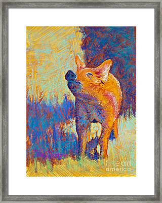 Rosie Framed Print by Tracy L Teeter