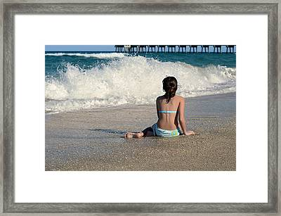 Rosie's World Framed Print by Laura Fasulo