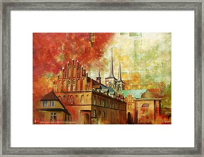 Roskilde Cathedral Framed Print by Catf