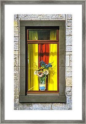 Roslin Window Framed Print by Ross Henton