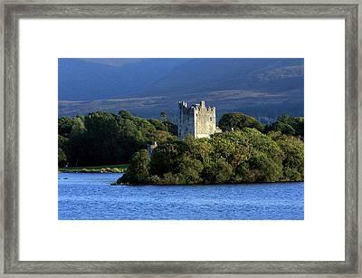 Ross Castle - Killarney - Ireland Framed Print by Aidan Moran