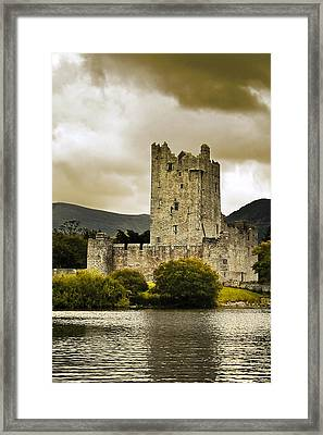 Framed Print featuring the photograph Ross Castle Killarney by Jane McIlroy