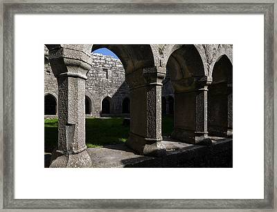 Ross Errilly Franciscan Friary 1351 Framed Print