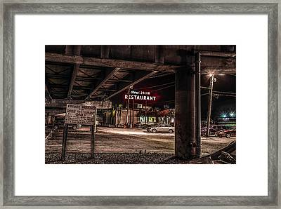 Framed Print featuring the photograph Ross' Restaurant by Ray Congrove