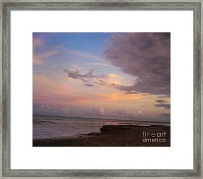 Ross Witham Beach Framed Print by Megan Dirsa-DuBois