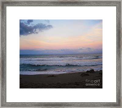 Ross Witham Beach No2 Framed Print by Megan Dirsa-DuBois