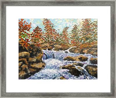 Rosseau Falls Framed Print