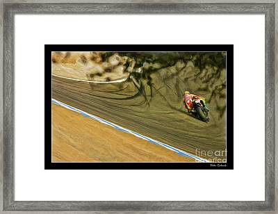 Rossi Though The Trees  Framed Print