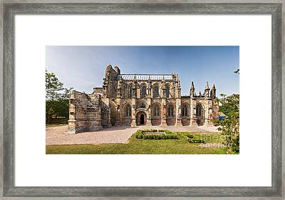 Rosslyn Chapel 01 Framed Print