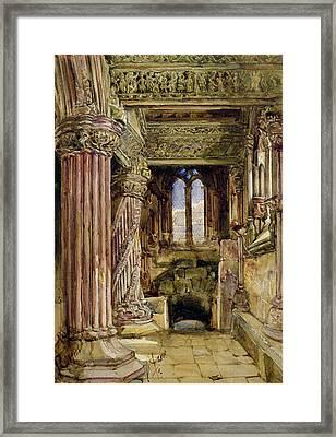 Rosslyn Chapel, Scotland Framed Print