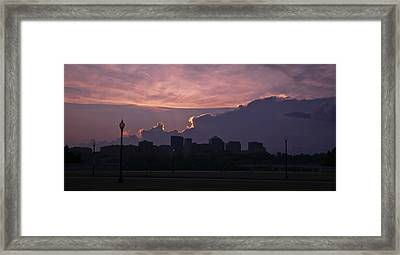 Rosslyn Skyline Framed Print