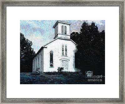Rossville Church And Cemetery Framed Print