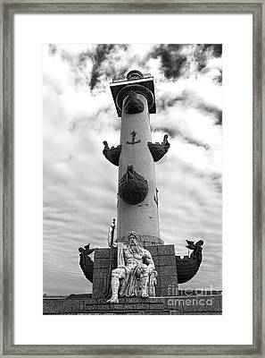 Rostral Column Framed Print