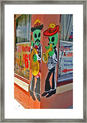 Roswell Aliens Framed Print by Gregory Dyer
