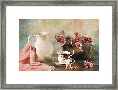 Rosy Complexion Framed Print by Diana Angstadt