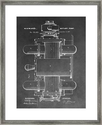 Rotary Pump Framed Print by Dan Sproul