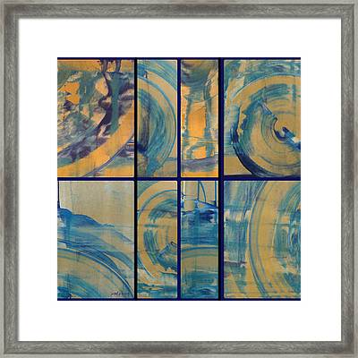 Framed Print featuring the photograph Rotation Part Two by Sir Josef - Social Critic - ART