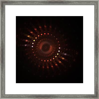 Rotation Framed Print by Steve K